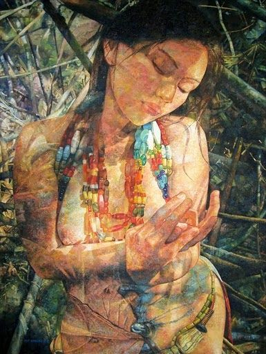 Cordillera Art Inspired By Cordilleran Culture Traditions And People Paintings By Jef Cablog Philippine Art Filipino Art Art
