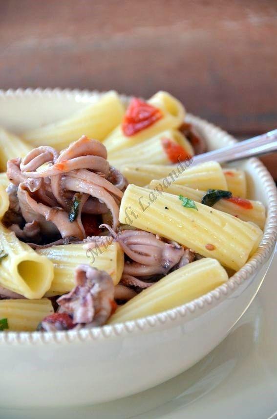 Pasta con moscardini food miele di lavanda pasta for Ricette italiane primi piatti
