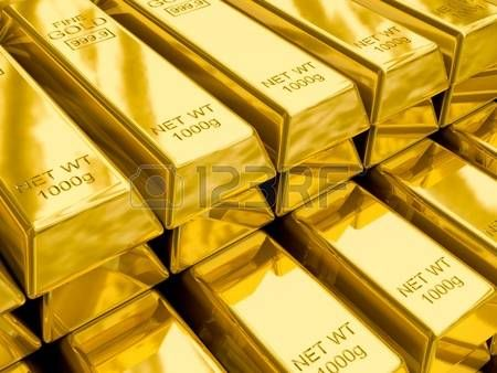 Stacks Of Gold Bars Close Up Dailymotion Pinterest Oro
