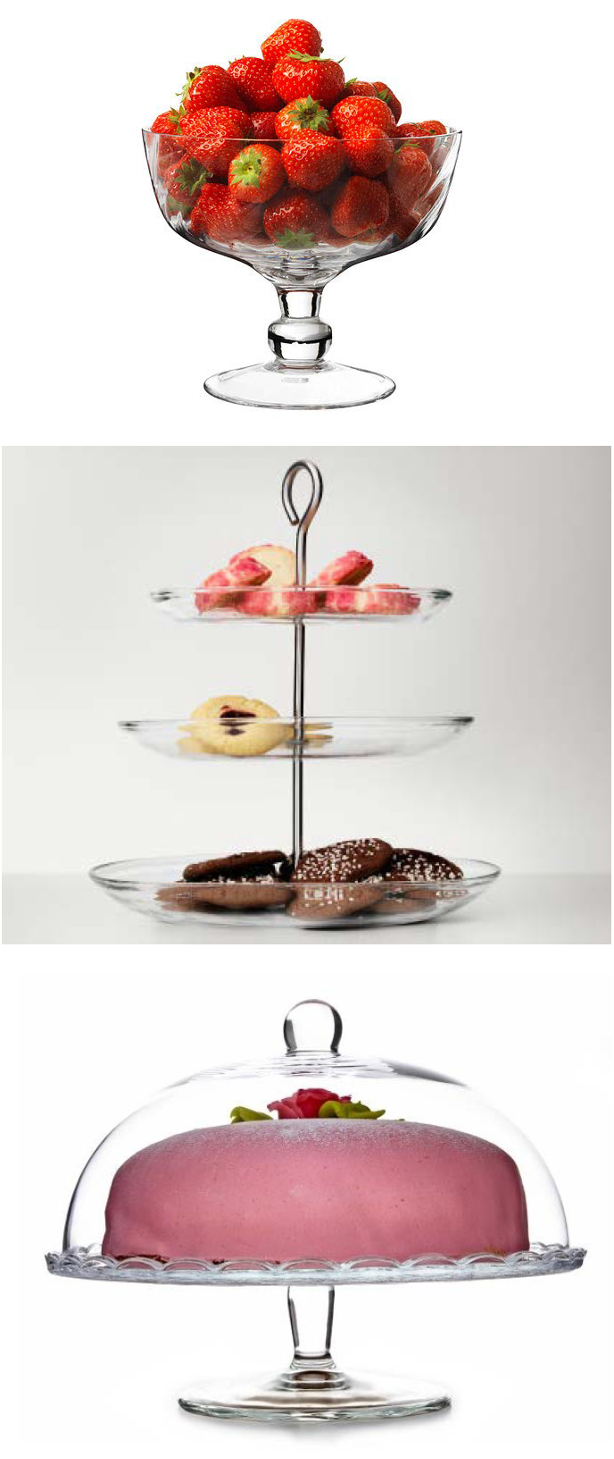 Don T Forget Dessert Show Off Those Sweet Treats In Style Ikea Cake Stand Serving Platters Serving Piece