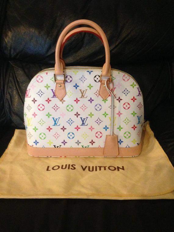 Vintage Louis Vuitton Multicolor Alma Handbag by StellaHotShop ... a6619db036bfd