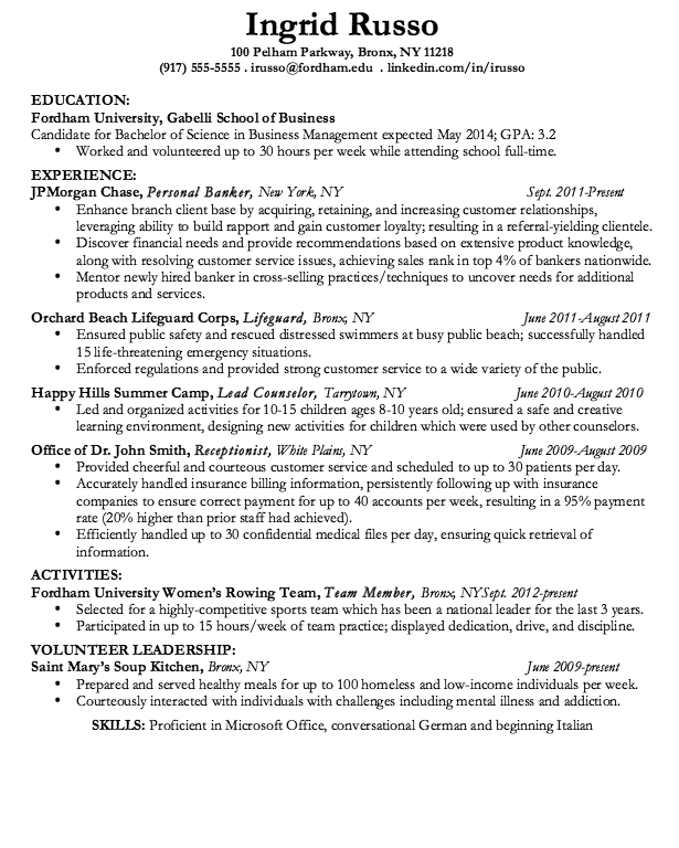 This Example Sample Resume Lifeguard Corps We Will Give You A Refence Start  On Building Resume.you Can Optimized This Example Resume On Creating Resume  For ...  Resume For Lifeguard