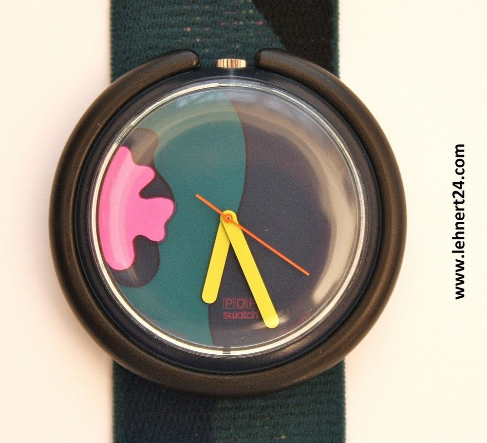 Swatch Uhren Günstig Kaufen Pop Swatch Tropical Night Pwbs104 Nostalgia Swatch Swatch Uhren