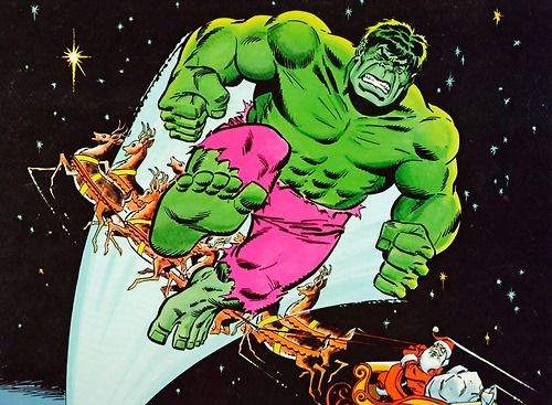 Hulk, the Green-Nosed Reindeer