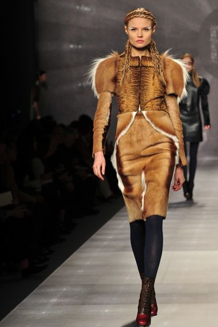 Why does it feel like I am watching a Game of Thrones runway show?  Fendi