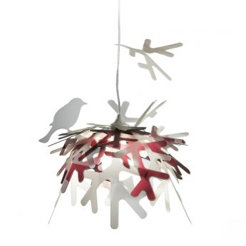 Suspension Lui Slamp Originale Po Tique Et Graphique La Suspension Lui Purple Introduira La