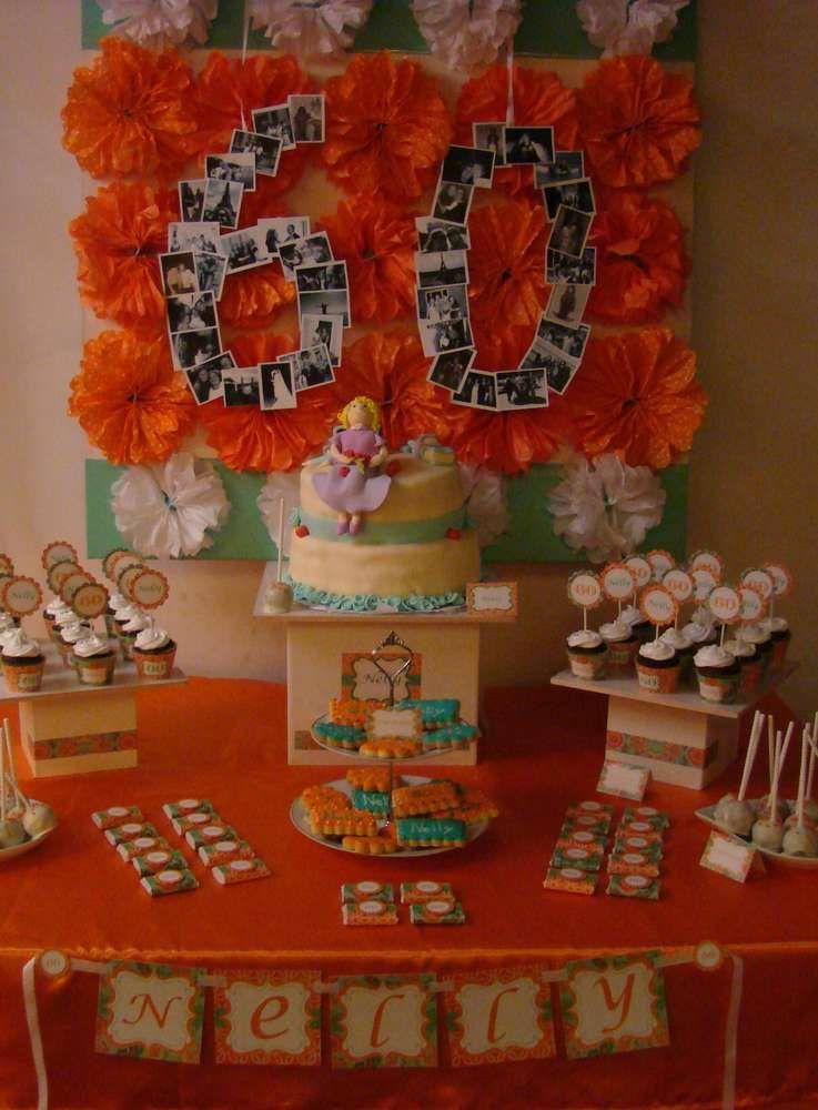Orange Birthday Party Ideas 60th Orange Birthday Parties 60th