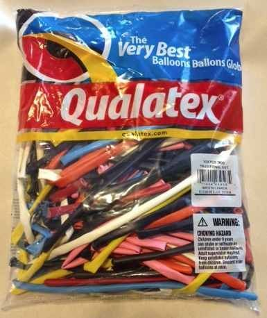 11% Off was $10.99, now is $9.79! Qualatex 260Q Balloons - Assorted Color Twisty Balloons - 100 Count + Free Shipping