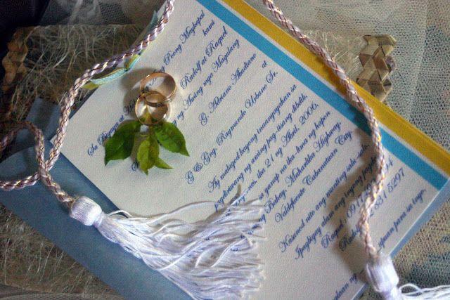Godu0027s Best Gift Tagalog Wordings for wedding invitation All about - fresh sample wedding invitation tagalog version