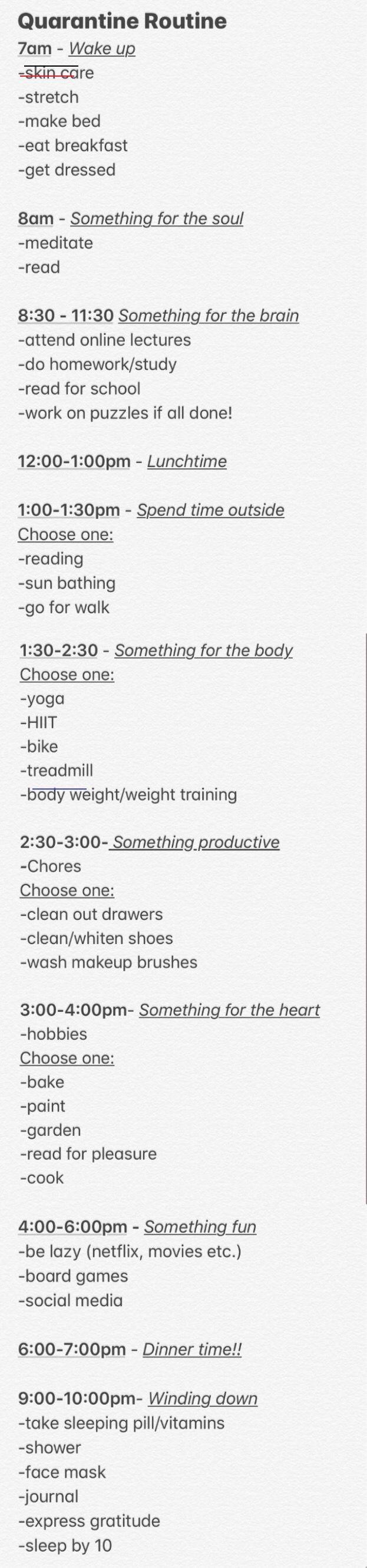 Pin on At home workout plan