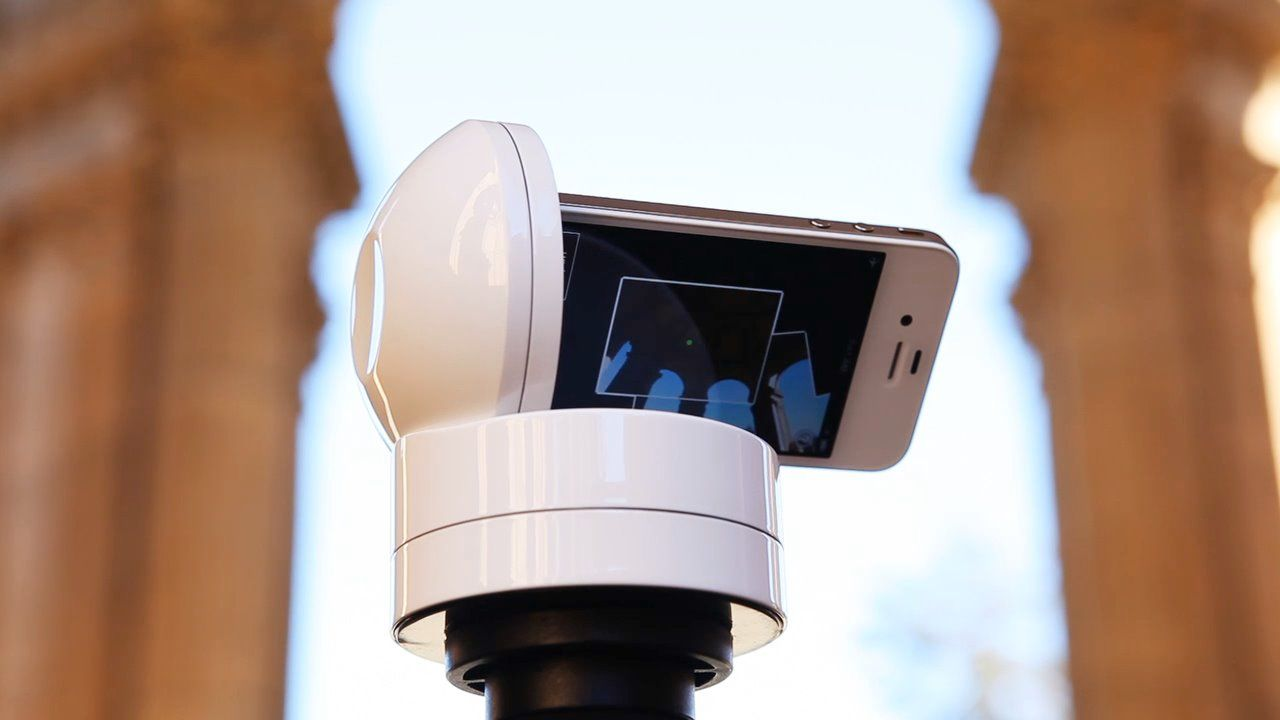 The Galileo is a revolutionary, iOS-controlled robotic iPhone platform with infinite spherical rotation capability.