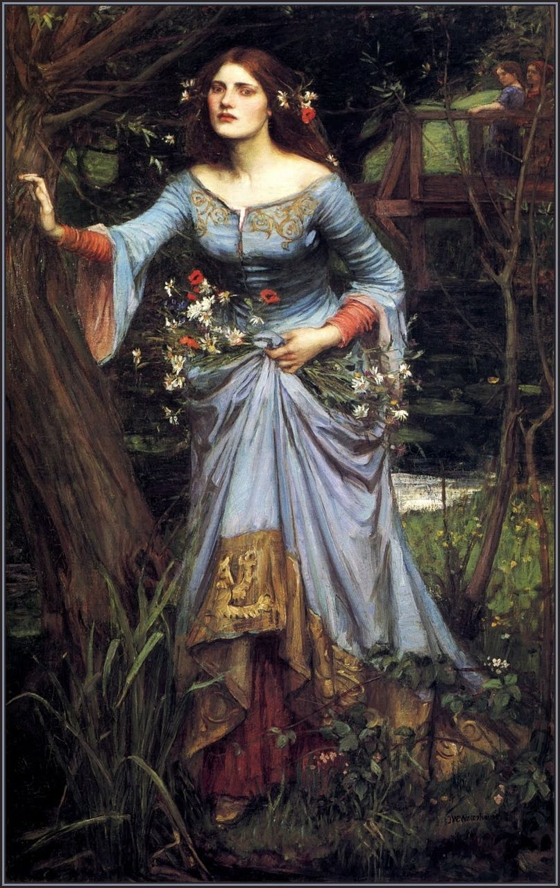 John William Waterhouse 1849 1917 Pre Raphaelite Paintings