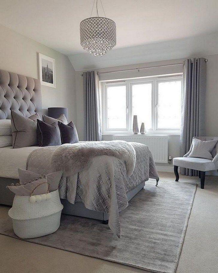 Modern Bedroom Ideas Create A Contemporary Bedroom In 5 Easy Steps In 2020 Grey Bedroom Decor Stylish Master Bedrooms Home Decor Bedroom