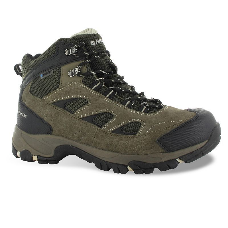Hi-Tec Logan Men's Waterproof Hiking Boots, Size: 14 Wide, Brown ...