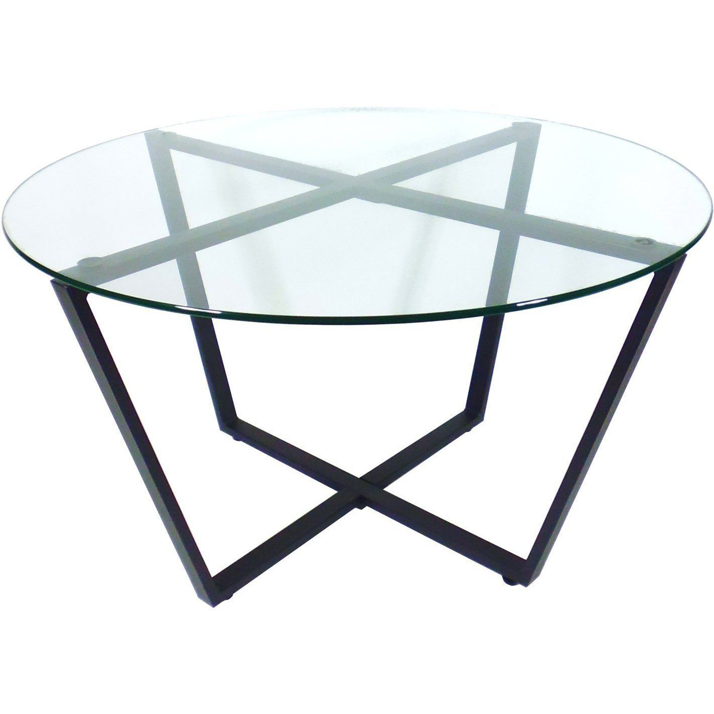 Amazon Com Mango Steam Metro Glass Coffee Table Clear Top Black Base Kitchen Dining Glass Coffee Table Living Room Accent Tables Cool Coffee Tables [ 1422 x 1422 Pixel ]