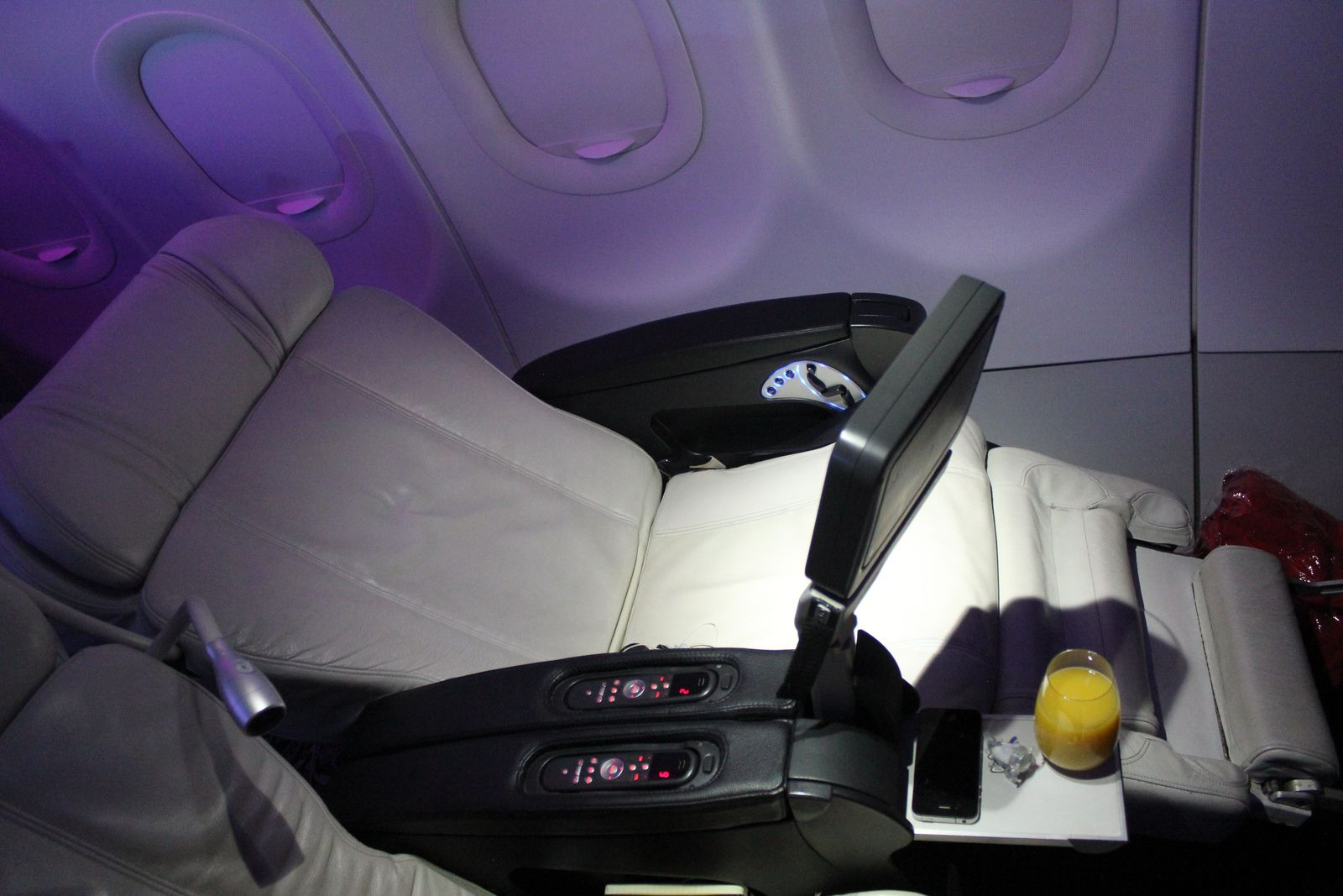 Virgin America Best Domestic First Cl Product Hands Down