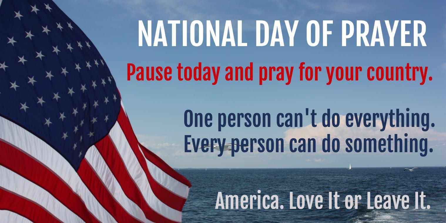 National Day Of Prayer Prayers National Day National
