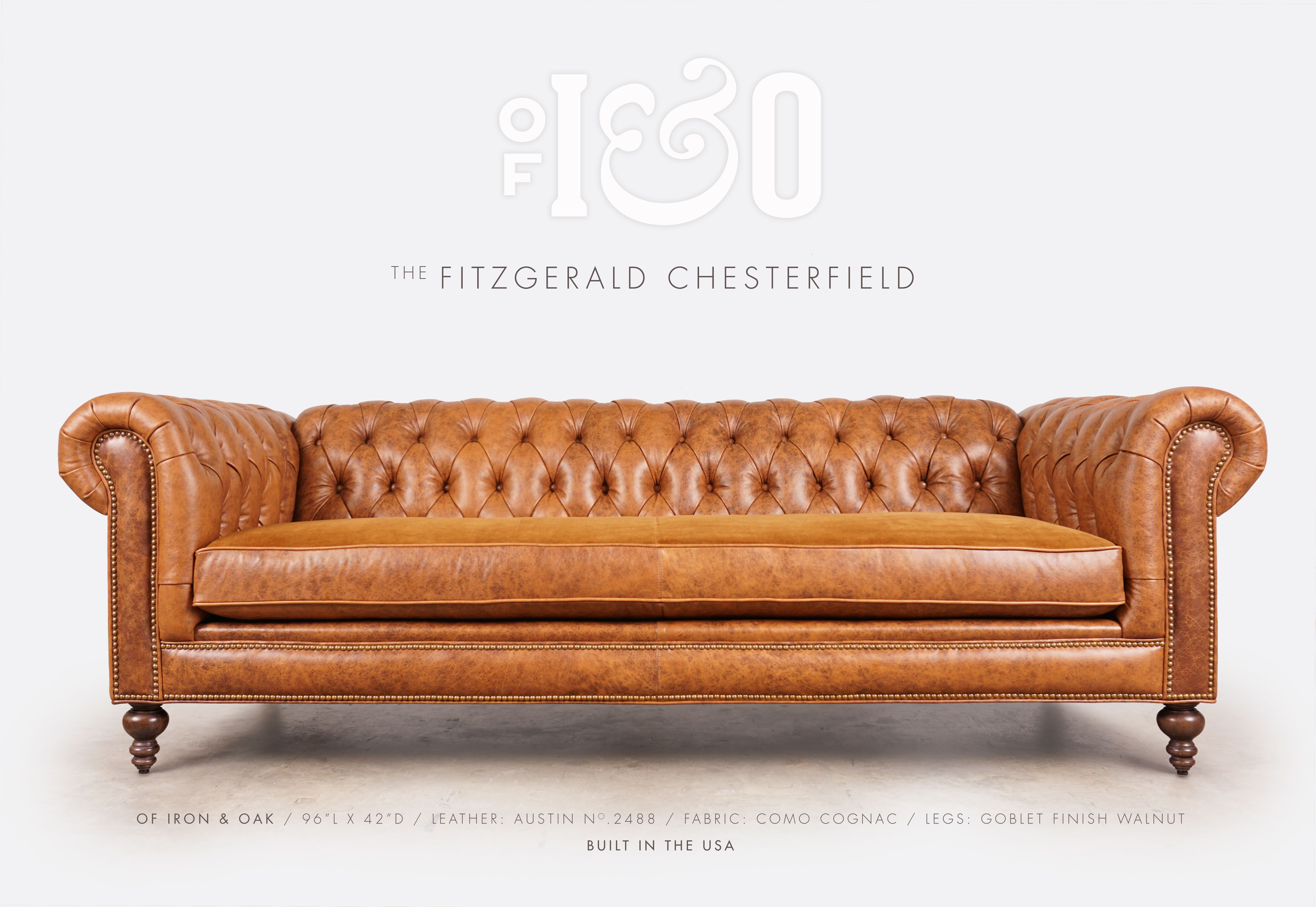 William Blake Chesterfield Sofa the fitzgerald custom classic chesterfield sofas & more in