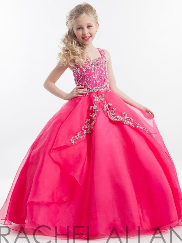 Perfect Angels Little Girl Pageant Ballgown 1617|PageantDesigns.com