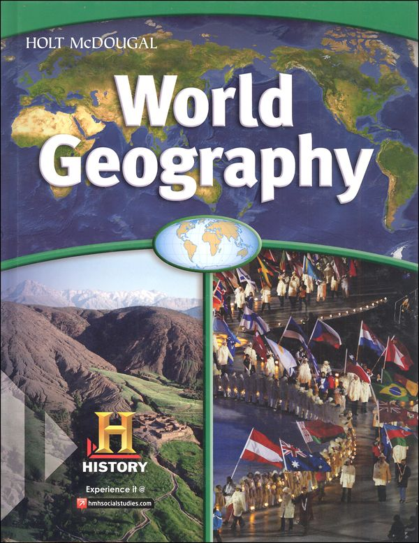 Holt mcdougal world geography homeschool package homeschool holt mcdougal world geography homeschool package 029573 details rainbow resource center inc fandeluxe Choice Image