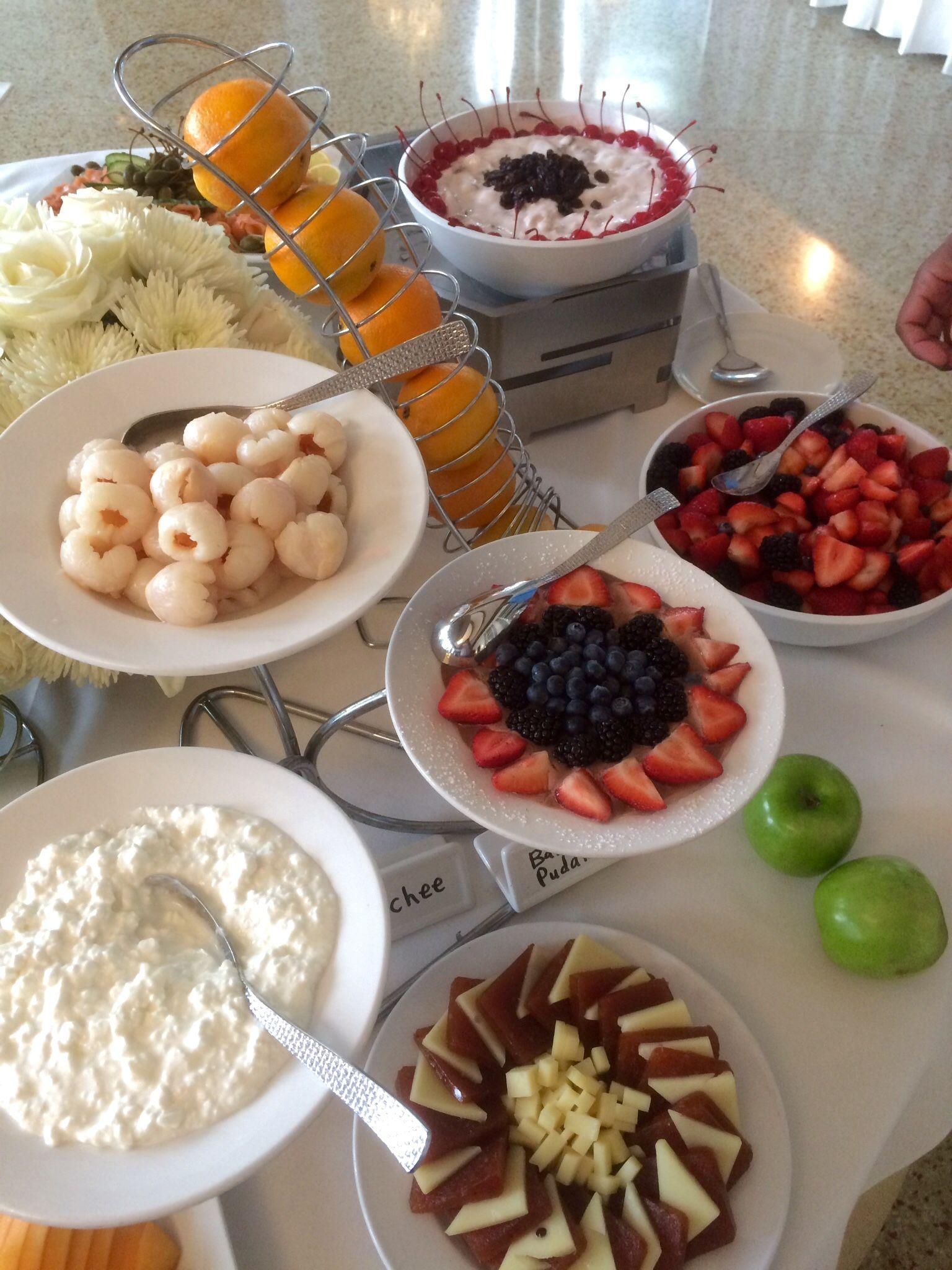 Brunch SoBeLocal Brunch, Fruit selection, Food