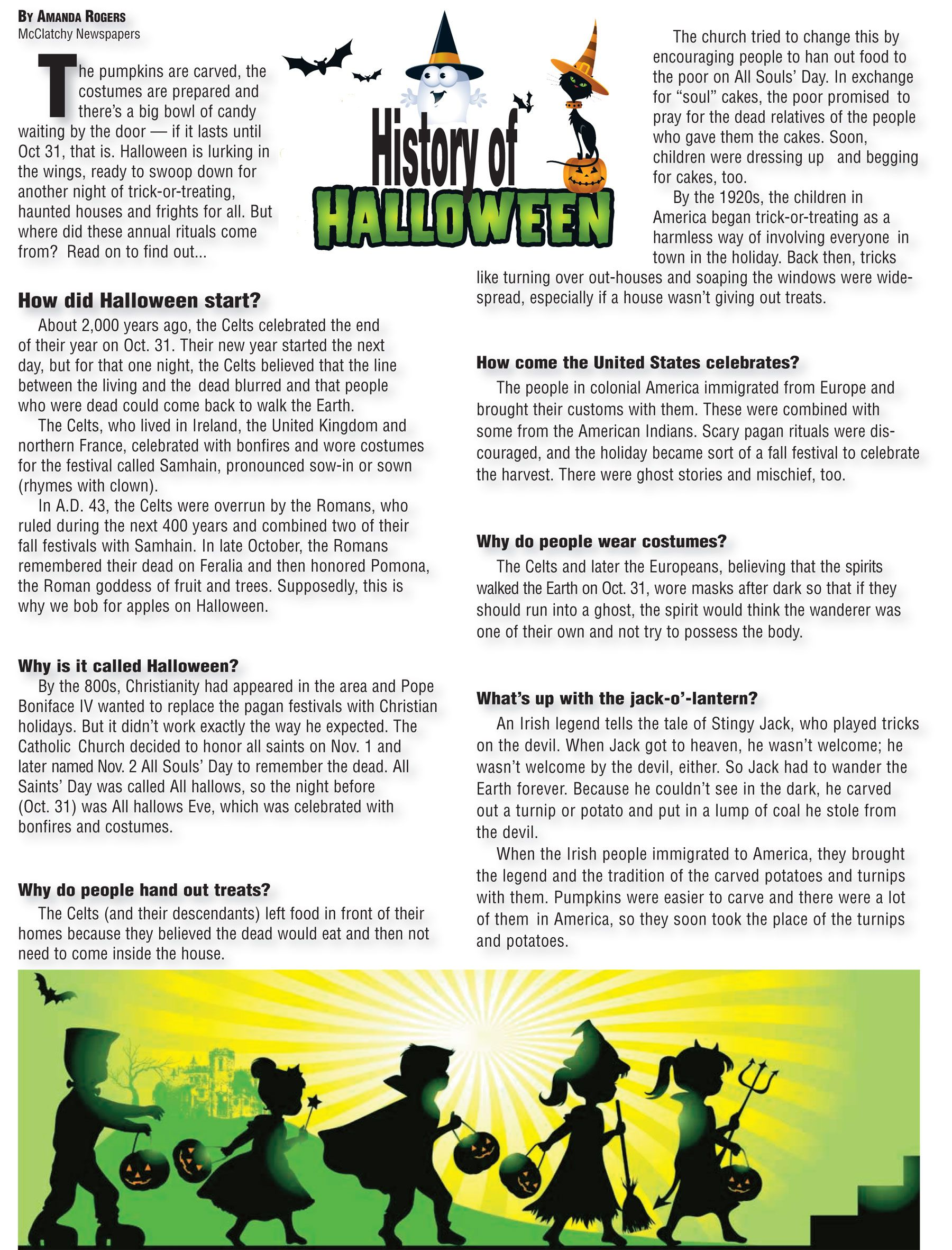 Halloween The Story Behind The Costumes, Candy And