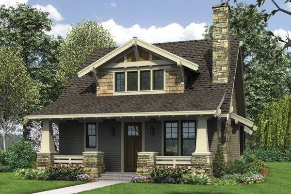 Cottage House Plans with Porches no floor plan but I like the