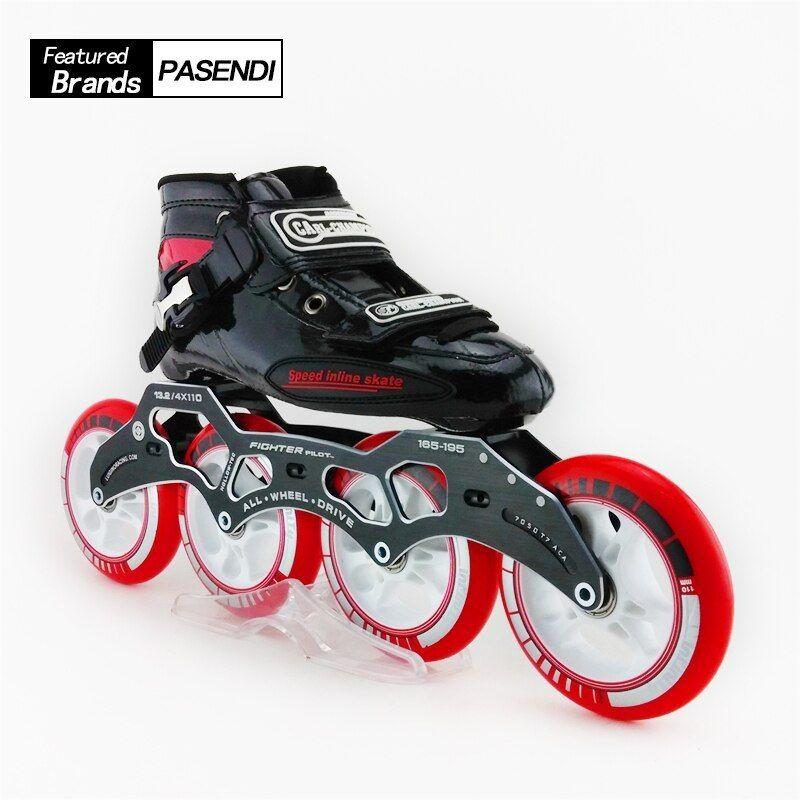 Barato Los Adultos Profesional Patines Velocidad En Línea Zapatos De Skate Zapatos De Ve Patines Profesionales Patinaje En Línea Patines En Linea Profesionales