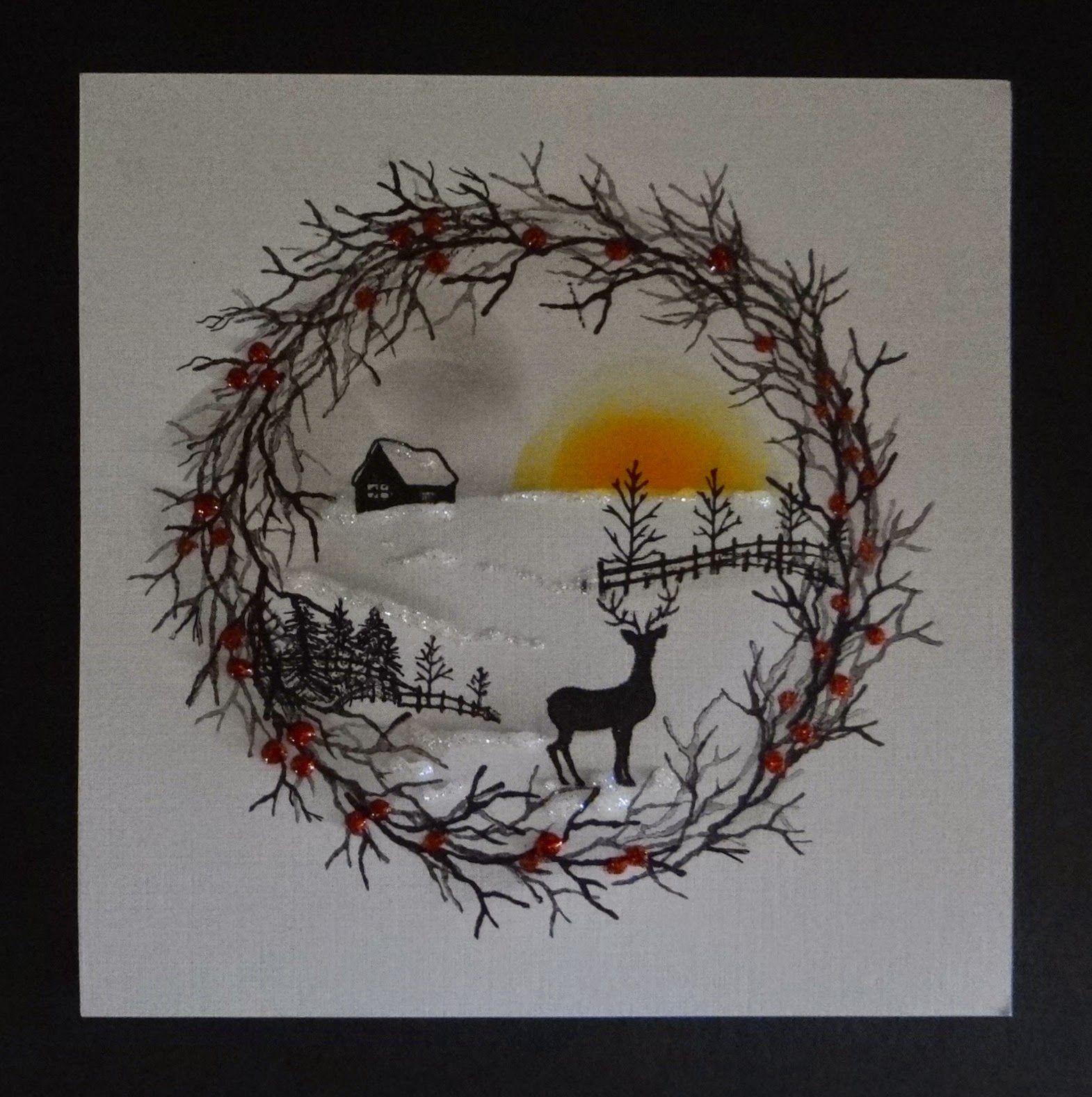 BJCrafty: Cardio Christmas Wreath