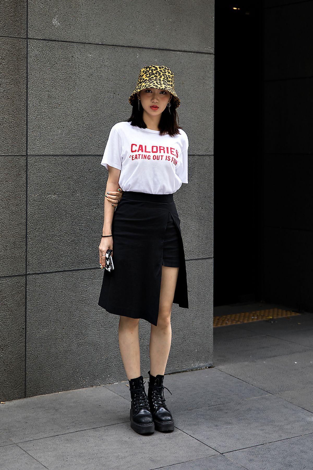 Jung Jisoo, Street Fashion 7 in Seoul  Gaya model pakaian
