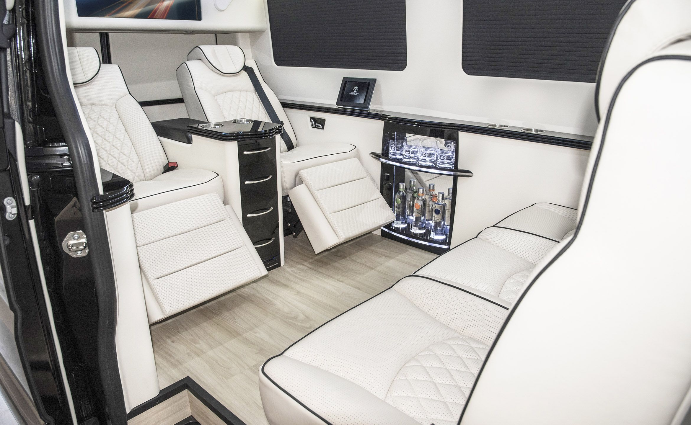 Custom Interior Mercedes Benz Sprinter Van Conversion