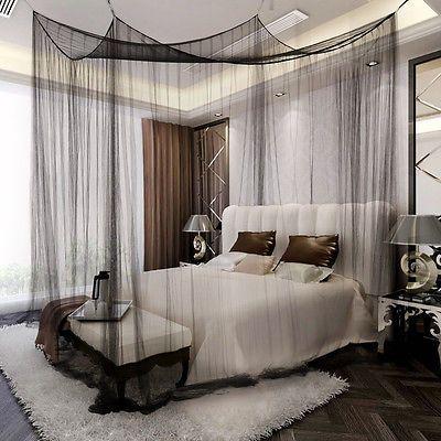 details zu moskitonetz betthimmel fliegennetz m ckennetz baldachin insektennetz insektennetz. Black Bedroom Furniture Sets. Home Design Ideas