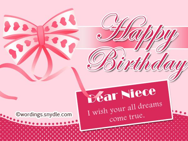 Niece birthday wishes and messages Family can be an anchor in our – Birthday Greetings Niece