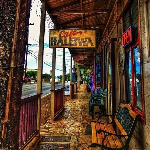 Haleiwa. -- our town