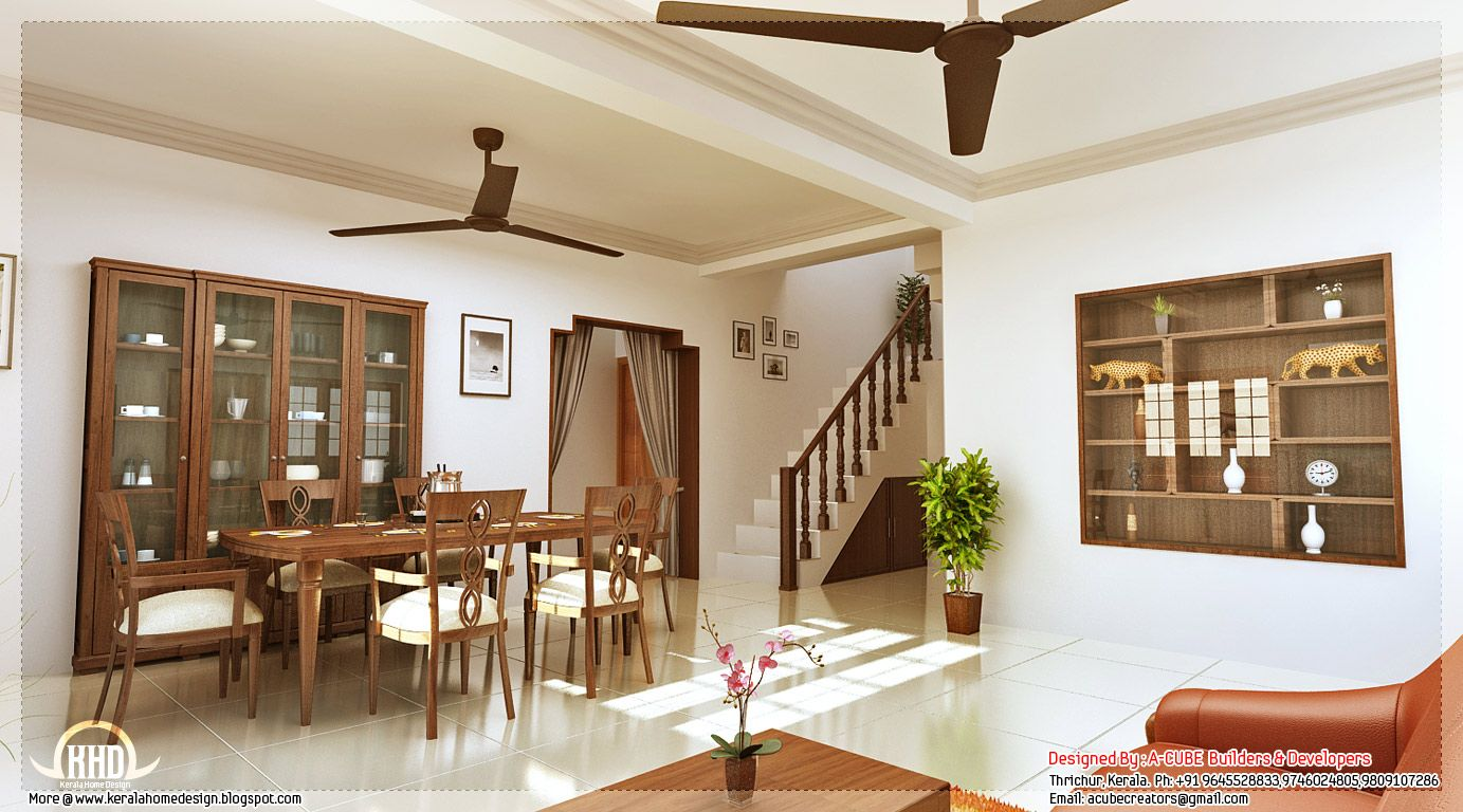Kerala Style Home Interior Designs Home Interior Design House Interior Small House Interior Design