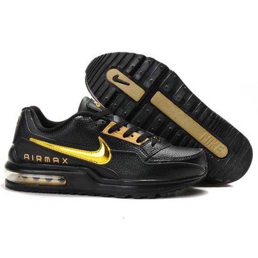 reputable site 96e69 ec2d4 Danmark Billige Nike Air Max LTD Trainers Kvinder - GoldBlack