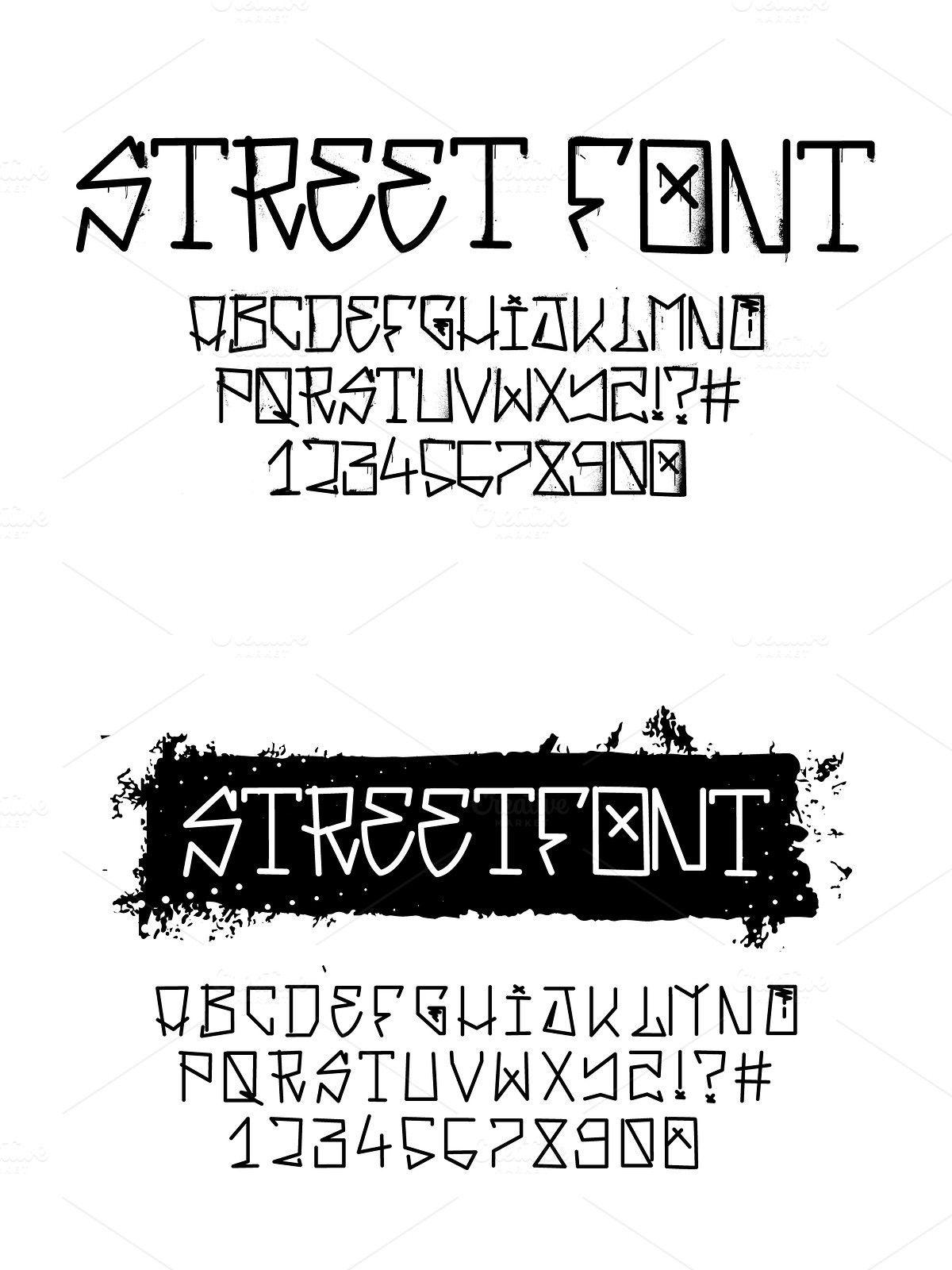 Graffiti Font Street Tag Alphabet Graffiti Font Tag Alphabet Graffiti Lettering