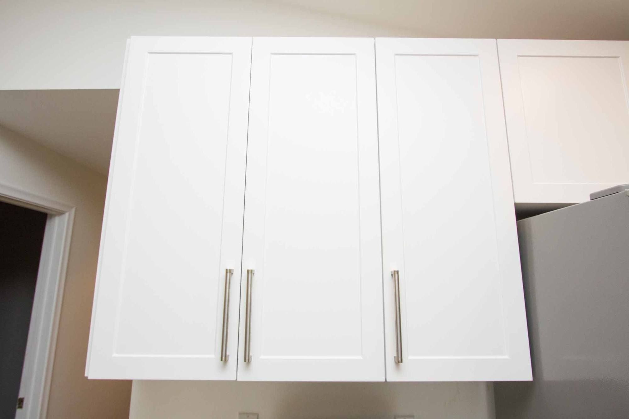 Naples White RTF Shaker Custom Cabinet Door | Custom ...