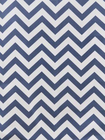 CHEVRON ROYAL (Outdoor Fabric)
