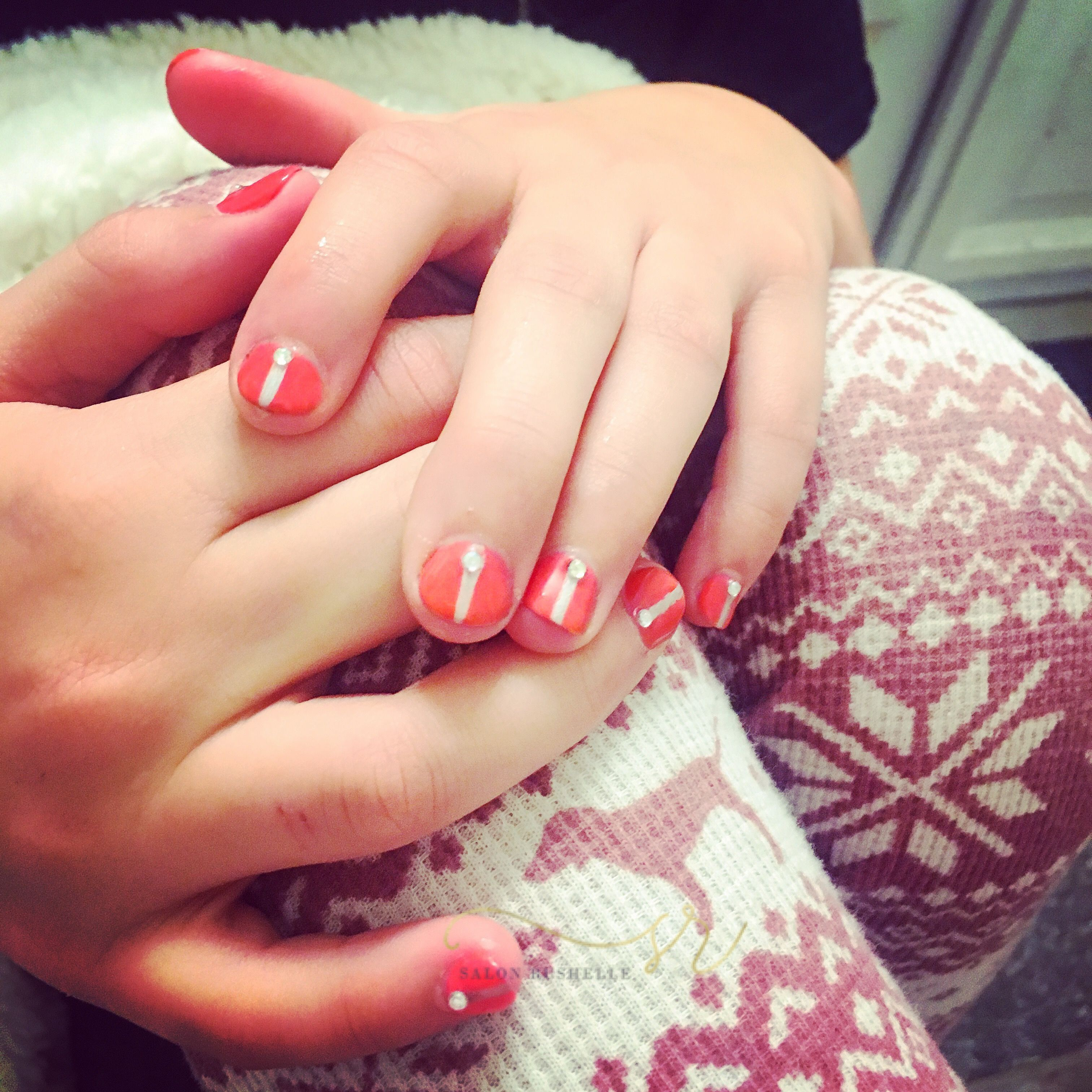 Today I got pampered by my favorite nail girl ever! @nailsbyshosh did a beautiful job on my nails today. After all you're never too young to put a little #bling in your life! Give her a call @ 517.983.8698 and book your manicure now. Mention me at the time of your appointment and save 10% off your manicure! #salonrushelle #nailswag #brooklynmi #preteenlife #nailsmagazine #nailbyshosh