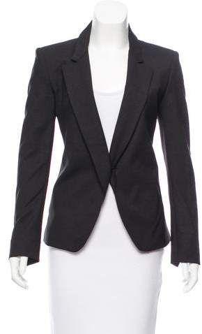 621e30e63f2 Theyskens' Theory Wool-Blend Cutout Blazer | Office wear