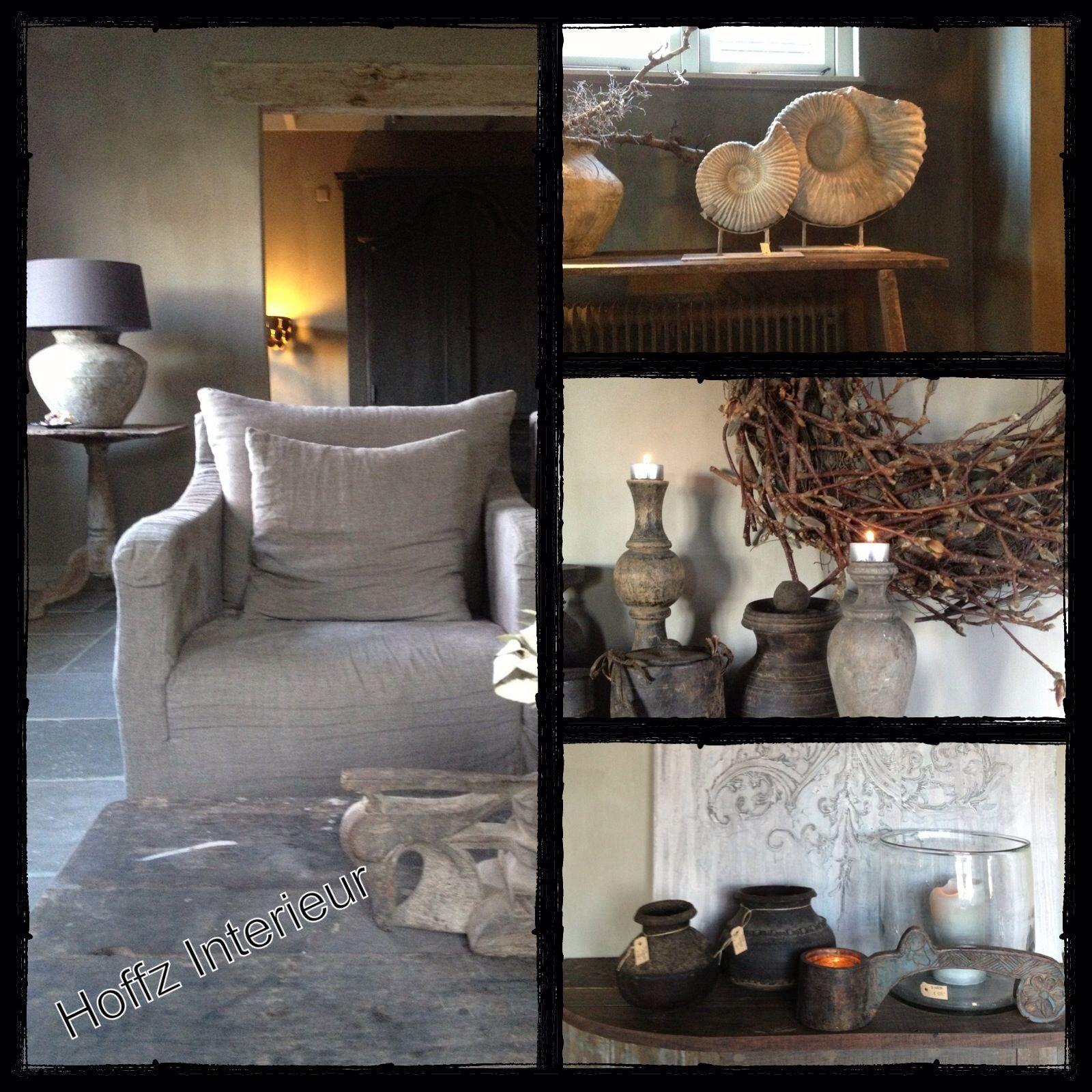 Collage hoffz decoratie pinterest collages landelijk wonen en decoreren - Rustieke eetkamer decoratie ...