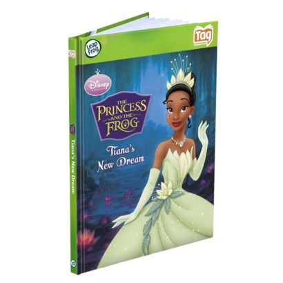 LeapFrog Tag Book - Disney The Princess and The Frog