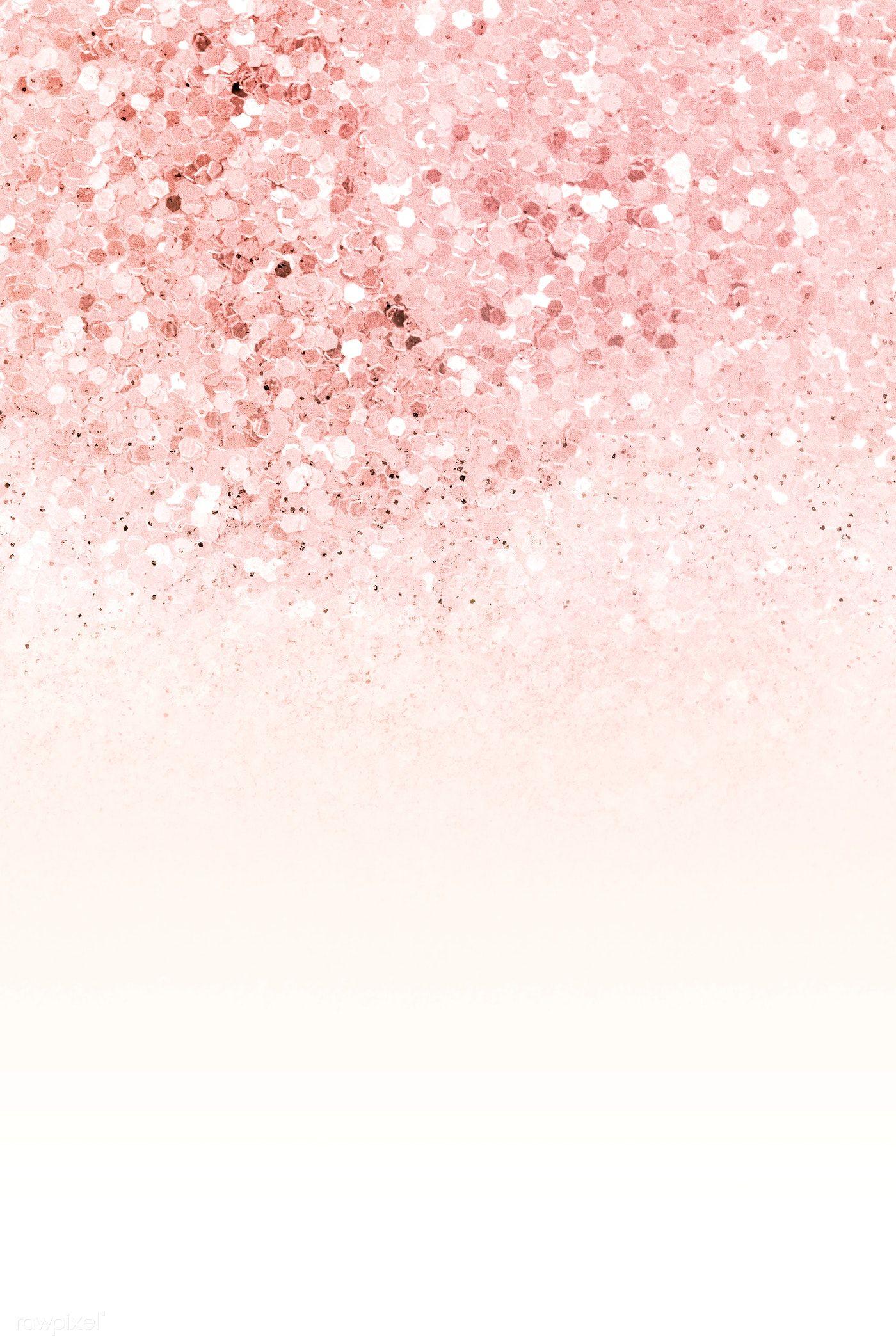 Download Premium Illustration Of Pink Ombre Glitter Textured Background Pink Glitter Wallpaper Pink Glitter Background Pink Sparkle Background