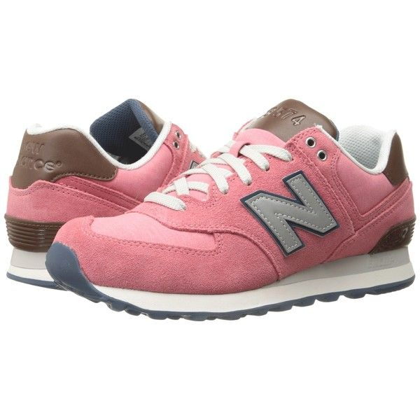 casual lace-up sneakers - Pink & Purple New Balance