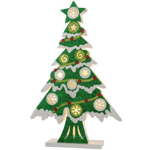 The Seasonal Aisle Pre Lit Christmas Tabletop Tree