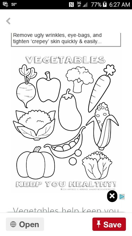 Pin by jeanah on copy Pinterest - copy coloring pages of vegetables