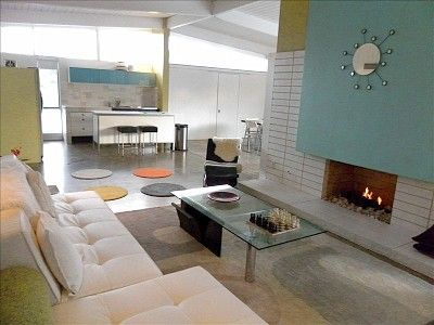 Mid century modern vacationrental in palm springs http www homeaway com vacation rental p903689
