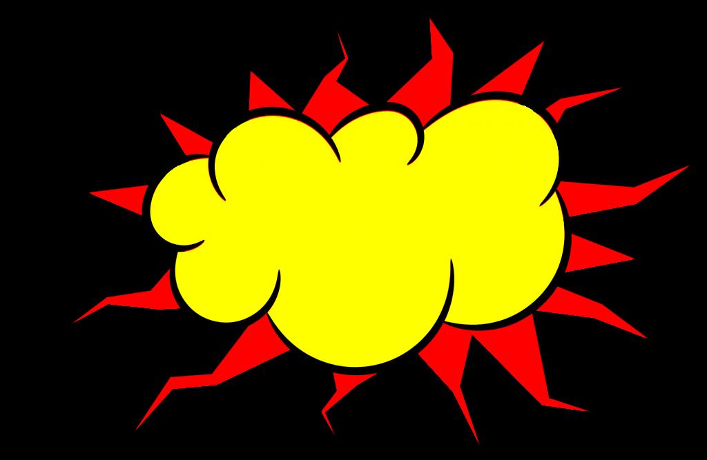 5 Comic Explosion Bubble Png Transparent Svg Vector Onlygfx Com Png Godzilla Birthday Party Godzilla Birthday