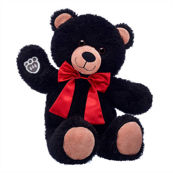 Online Exclusive Black Teddy Bear Holiday Gift Set Build A Bear Holiday Gift Sets Black Teddy Bear Holiday Gifts